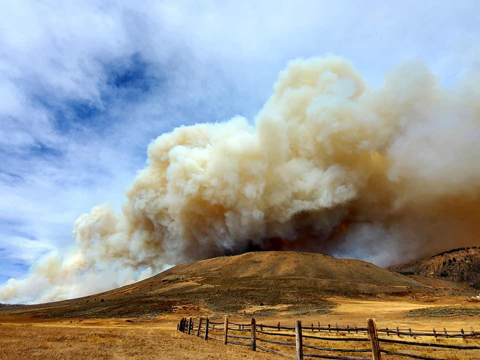 The East Troublesome Fire has exploded, causing the closure of Rocky Mountain National Park and the evacuation of Grand Lake.