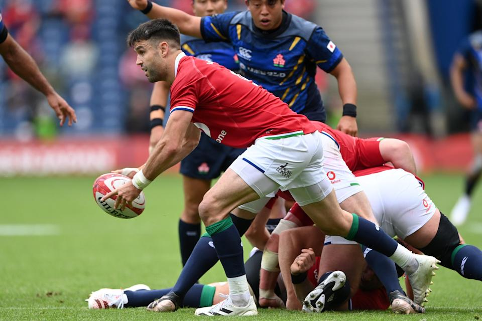 Conor Murray in action for the Lions against Japan (Getty Images)