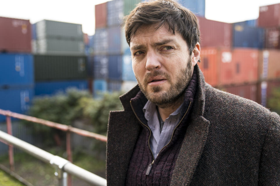 JK Rowling's detective stories have been adpated into a BBC TV series 'Strike' starring Tom Burke. (BBC)