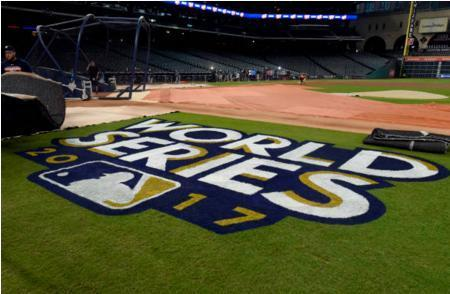 A view of Minute Maid Park in Houston before World Series Game 3. (Getty Images)