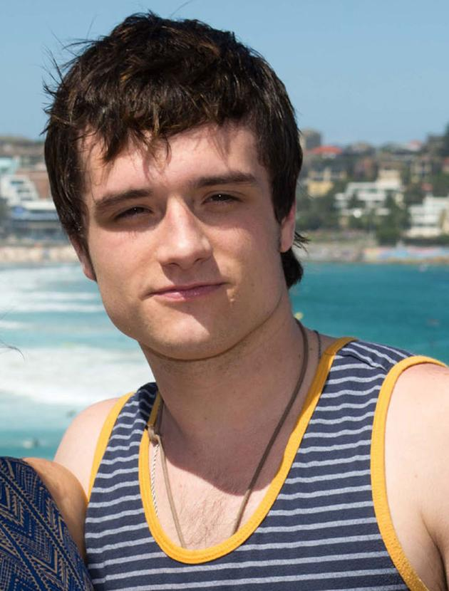 Josh Hutcherson photos: Even in a vest he still looks delicious!