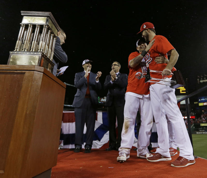 Young arms key to Cards' World Series appearance