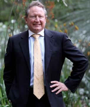 Mining billionaire Andrew Forrest. Picture: Sharon Smith/The West Australian