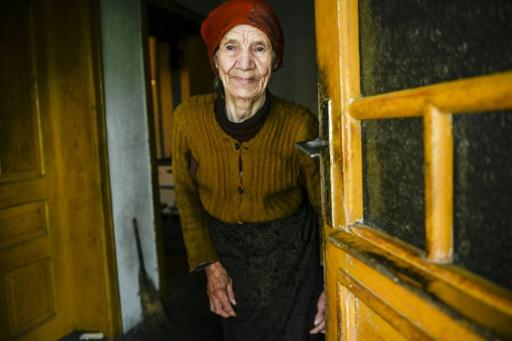 Vladica Dicic is the only person left in the remote and mountainous village