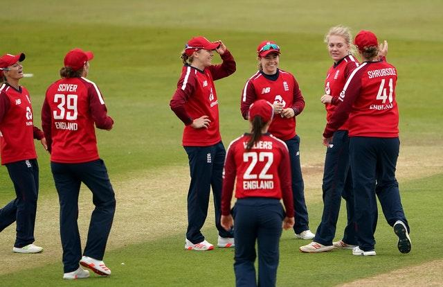 England Women moved 3-0 ahead in their five-match series against the West Indies (Tim Goode/PA)