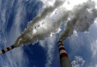 FILE PHOTO: Smoke billows from Belchatow Power Station
