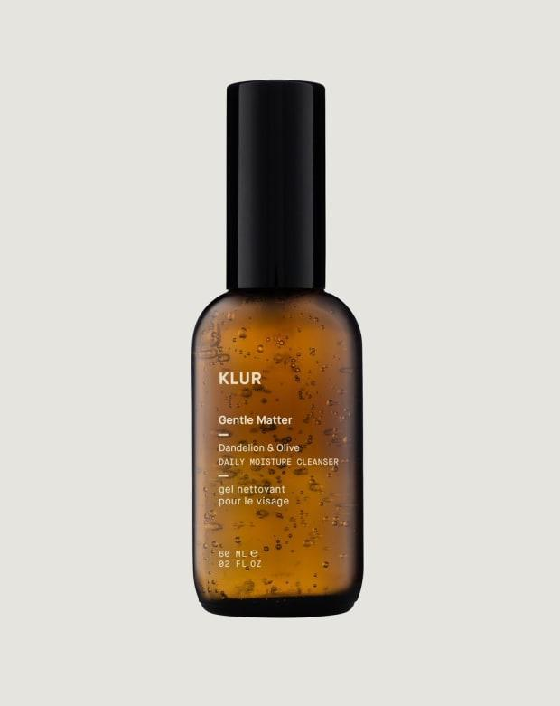 "<p><strong>Klur Gentle Matter Daily Moisture Cleanser, $22, <a href=""https://klur.co/products/gentle-matter"" rel=""nofollow noopener"" target=""_blank"" data-ylk=""slk:available here"" class=""link rapid-noclick-resp"">available here</a>: </strong>""It takes a <em>lot</em> for me to get excited about a cleanser — they're barely on your skin for a minute! — but this beautifully light and gentle gel cleanser had me hooked after just a couple of uses. It doesn't get foamy or sudsy, but it sort of melts into skin as you massage it in, dissolving makeup and daily grime, but leaving natural moisture behind. Unlike balm or oil cleansers, though, it also rinses away easily and quickly. My face feels refreshed and hydrated after I use it in a way almost no other face wash has ever accomplished."" —Stephanie Saltzman, Beauty Director<br> </p>"