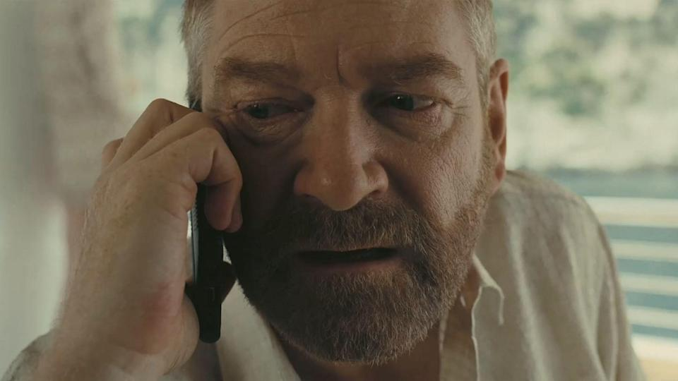 Kenneth Branagh takes 'menacing' to a whole new level