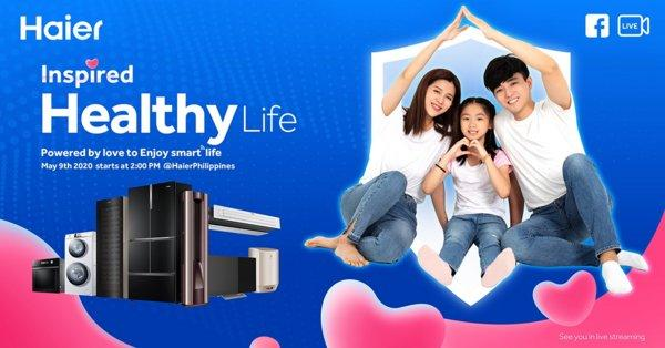 Stay Tuned to Haier Facebook Live Tomorrow which starts from 2pm (GMT+8).