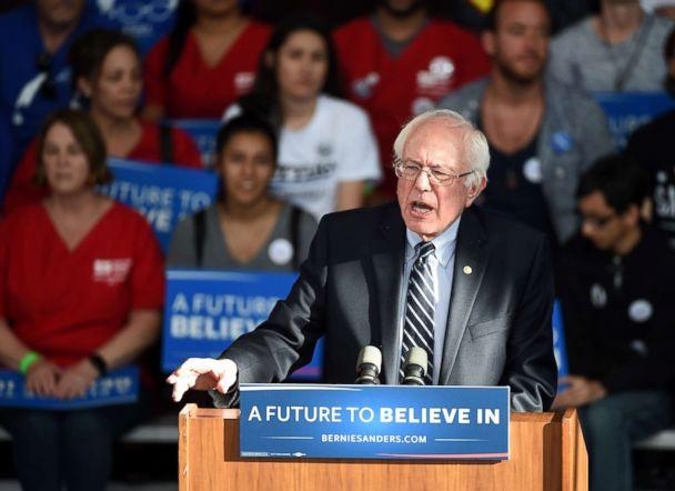 PHOTO: Democratic presidential candidate Sen. Bernie Sanders at the Henderson Pavilion in this Feb. 20, 2016 file in Henderson, Nev. (Ethan Miller/Getty Images, FILE)