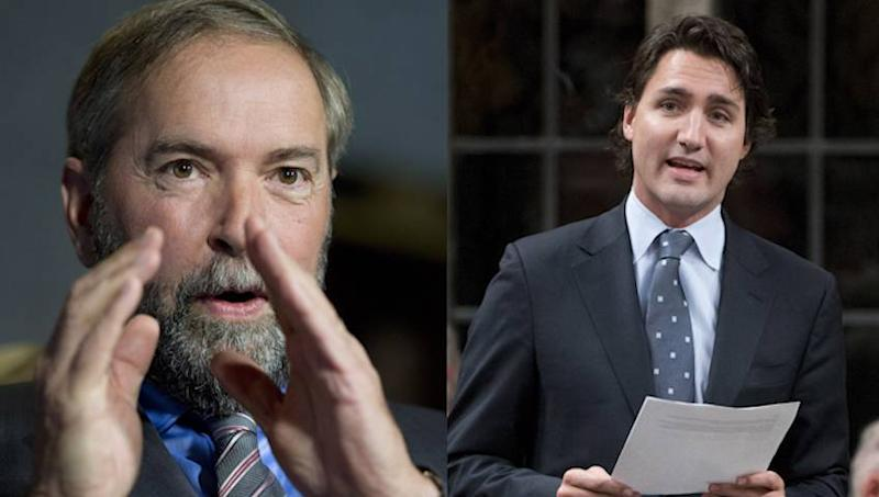 Trudeau, Mulcair call out Conservatives over Rob Ford ties