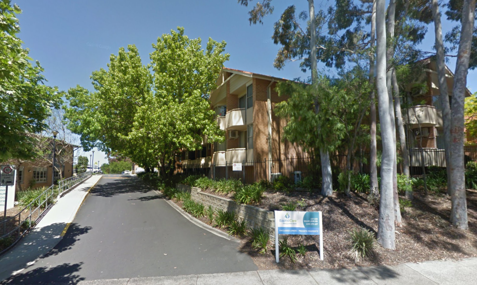 The aged care facility in Macquarie Park where a 95-year-old woman has died. Source: Google Maps