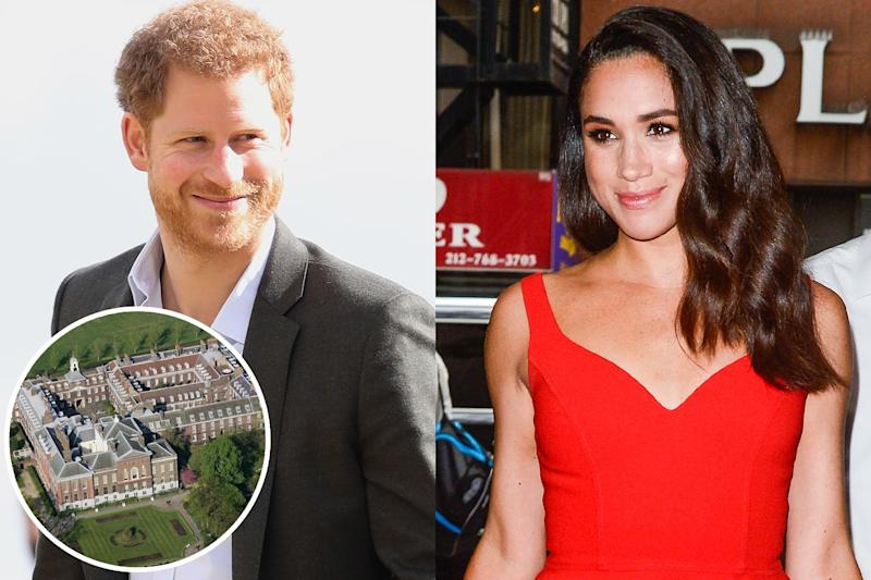 Are Prince Harry and Meghan Markle Planning to Move in Together?