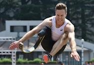 Germany's Markus Rehm is hoping to break his own long jump record at the Tokyo Paralympics