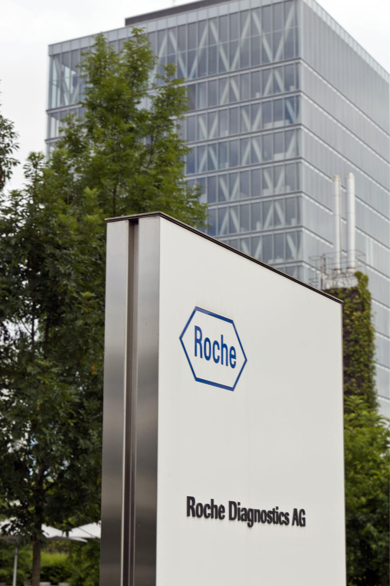 Roche: 6 percent sales boost in first 9 months