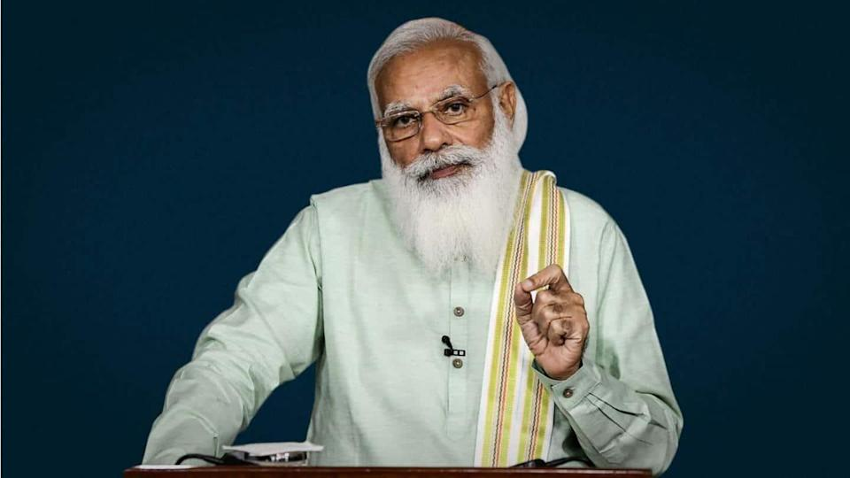 #MannkiBaat: PM Modi stresses on cleaning rivers, COVID-19 vaccinations