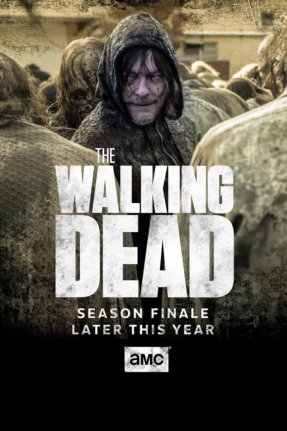 Daryl teased a new meat suit to walk among the dead on the finale.