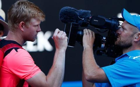 "Kyle Edmund can never have endured a longer 20 seconds. When Grigor Dimitrov challenged the ""out"" call on his final slice backhand, Edmund looked up at the big screen and covered his mouth with his palm. Yet the Hawk-Eye ruling, like the result itself, was categorical. The ball was long, by a couple of inches. Dimitrov, the No. 3 seed and recent ATP Finals champion, was out of the Australian Open. And Great Britain had a new sporting hero. On Thursday, Edmund will play Marin Cilic for a place in the Melbourne final, after Rafael Nadal made a dramatic exit from the tournament last night. This was a heartbreaking moment for Nadal's millions of fans, yet it can only have improved Edmund's chances of becoming the most unexpected slam finalist since Martin Verkerk at the 2003 French Open. Hold on a minute, though. We are getting ahead of ourselves. Simply to reach the semi-finals is an incredible feat. Andy Murray, with no fewer than 21 appearances at this stage of majors, might have made it look easy. But many fine players have never gone so far, from Nick Kyrgios to David Goffin. And then there is Edmunds unprepossessing ranking (49) to consider. Until Tuesday, no unseeded man had reached a major semi-final since Rainer Schuettler and Marin Safin, both at Wimbledon in 2008. A few wise old birds did see this coming – even if your correspondent was sadly not among them. The tennis seismograph picked up advance tremors three weeks ago, when Edmund beat Hyeon Chung in the second round of Brisbane. Now that Chung has ejected Novak Djokovic from Melbourne Park, that win looks like the proverbial canary in the coalmine. He's done it! What a moment for @kyle8edmund - look at what it means! ����#AusOpenpic.twitter.com/RqmA6f7ChT— #AusOpen (@AustralianOpen) January 23, 2018 Edmund also gave Dimitrov a scare in Brisbane, before a rolled ankle scuppered his chances. On Rod Laver Arena, though, we expected Dimitrov's extra experience and proven pedigree to count. We expected Edmund's glorious campaign to end in plucky disappointment. We expected anything, in other words, but what we got. Edmund bossed this match from the opening game – in which he secured the first of his five breaks of serve – to that fateful Hawk-Eye call after 2hr 49mins. Judging by his sang-froid, he could have been playing in the David Lloyd Centre in Hull, where he hit his first thunderous forehands at the age of ten. Dimitrov, by contrast, was hesitant and shaky. His second serve has been a problem area since the start of the season, to the point where many coaches and commentators are convinced that he has the yips. On Tuesday he kept his double-fault count down to seven, a respectable total when compared to the 15 he delivered against Andrey Rublev in the third round. But even the ones he landed were short and loopy, kicking up high into Edmund's chest and giving him time to line up that whipcrack forehand. Edmund signs a camera after reaching the semi-finals Credit: Getty Images The final point of Edmund's 6-4, 3-6, 6-3, 6-4 victory was typical. After a strong first serve, he struck five successive heavy forehands, each one laden with more spin than the last. Dimitrov – who could be the quickest player on the tour – shuttled left and right in a desperate attempt to bunt them back. The whole match acted as a kind of physics lesson, demonstrating that when athletic mobility (Dimitrov) meets weight of shot (Edmund), the ball will always move faster than the man. ""I am loving it right now,"" said Edmund afterwards, in a press conference that defied his reputation for bashfulness. ""It was my first time on one of the biggest courts in the world. To beat a player of Grigor's quality – these are great feelings. In the key moments I stepped up well and was brave, really went for my shots, and they came good."" Here is the difference between today's Edmund and last year's model. The nearly man who lost tight matches against everyone from Nadal to Milos Raonic and Stan Wawrinka is gone. Edmund's perfect record in the new season is only interrupted by that sprained ankle he picked up in Brisbane. Perhaps we should call him Edmund Ironside now, after the hard-bitten 11th-Century king. ""Always the big challenge is dealing with adversity,"" said Tim Henman, who also remained ice-cool in his position in the first row of seats. ""If you look at Kyle's deciding-set record last year it was fairly poor for a player of his ability."" (This is an understatement: in 2017, Edmund lost 18 of 25 matches that went the distance.) ""But the way he finished that match off was really impressive, and it will give him so much confidence. A big ace up the middle on 30-all, then a great rally to close. He's fit and he's strong and he's playing with maturity. Against Cilic on Thursday, he definitely has a shot."" 7:04AM Edmund chasing down Murray The 23-year-old's win is likely to move him up to 26 in the new world rankings next Monday. But wait, if Edmund reaches the final in Melbourne he could unseat Andy Murray as Britain's No 1. Edmund soaks up the adultion on Rod Laver Arena Credit: Reuters Huge @kyle8edmund!!belief in himself growing and small change to serve in off season making huge difference!Well done to @markhilts too ��— jamie delgado (@DelgadoJamie) January 23, 2018 7:01AM Stats of the match Not much between both men but Edmund winning more points on his first serve and sending down six more aces than Dimitrov. Edmund also made 16 forehand winners compared to Dimitrov's 10. Credit: Australian Open 6:49AM Edmund top of the charts The Briton's forehand has been his biggest weapon this tournament and has put his rivals in the shade. Forehand winners 2018 #AusOpen - Men Edmund 127 Dimitrov 93 Seppi 90 Cilc 88— Christopher Clarey (@christophclarey) January 23, 2018 6:47AM Nadal or Cilic up next for Kyle So Edmund is the first player in the men's draw through to the last four. He's also the first Briton other than Andy Murray since Tim Henman in 2004 to reach the semi-finals of a major. Nice that Tim was on court to watch the 23-year-old book his spot. Edmund will now face the winner of tonight's clash between Rafael Nadal and Marin Cilic which is scheduled for 8am UK time. Wow! @kyle8edmund— Andy Murray (@andy_murray) January 23, 2018 6:44AM Semi-finalist Edmund speaks ""It's an amazing feeling, I'm very happy. It was a hard match, I've had lots of matches so far. I tried to enjoy the moment. It's my first match on this court and it was special. ""He's (Dimitrov) played hard matches, I knew it was going to be tough. I had a dip in the second set, but I broke him at the end of the third had a blip in the fourth and at the end prayed that last ball was out."" Edmund is told by Jim Courier he's the sixth British male to reach a major semi-final in the open era - what does it mean to join the illustrious club? ""It's great. You don't think of those things when you're playing. But I'm sure it's going to be something I'm going to be proud of. It's very pleasing. Of course I want to keep going!"" Edmund is asked what it's like to be centre of attention from the British press... ""Yeah, I know what it's like to be Andy Murray now for the last seven or eight years! ""It's probably the first time I've done well on my own, so there's more attention, but you try to take it in your stride and try to embrace it as much as possible. It's a good problem to have. The more I keep winning, the better."" ""[Now] I know what it feels like to be Andy Murray for the last eight years."" -@kyle8edmund ��#AusOpenpic.twitter.com/uqRb1ggwyu— #AusOpen (@AustralianOpen) January 23, 2018 6:38AM Dimitrov* 4-6, 6-3, 3-6, 4-6 Edmund (*next server) Dimitrov slices short during the opening point, it throws Edmund momentarily and the Briton strikes long. The two engage in some slicing during the next rally but this time it's Dimitrov who can't control his forehand. Nervous times for Edmund as a double fault gifts Dimitrov a 15-30 advantage. But he's not the only man struggling for rhythm as Dimitrov strikes long again. An ace down the middle brings up match point. How are your nerves now, Kyle? The pair engage in a lengthy rally and Dimitrov over-eggs another reply. The ball is called out. Was that out? It looked out. The Bulgarian challenges it but Hawk-Eye confirms what we suspected. Edmund books place in first ever major semi-final! That's also his first win over a top five player. GAME, SET AND MATCH: EDMUND BEATS DIMITROV TO REACH SEMI-FINALS. 6:32AM Dimitrov 4-6, 6-3, 3-6, 4-5 Edmund* (*next server) Both men have won 114 points a pop at the start of this game and this contest could yet go either way. Edmund will have something to say about that and does at the start of this game, bending a forehand winner past the net-rushing Dimitrov to set himself up nicely. Some deep hitting draws an error from Dimitrov who is sent scampering down another ball into the corner. Dimitrov sends down a beautiful backhand which looks to land on the line, Edmund challenges. It's out, it's out, Edmund has two break points. He can't convert the first but does on the next as Dimitrov tightens up and pushes into the net. Wow. Edmund will come out SERVING FOR THE MATCH!! EDMUND BREAKS. This Edmund vs Dimitrov has everything you want for a men's quarterfinals. Standard is so high. Come On Kyle.— Greg Rusedski (@GregRusedski1) January 23, 2018 6:27AM Dimitrov* 4-6, 6-3, 3-6, 4-4 Edmund (*next server) Edmund fires down his first ace of this set but then backs it up with an unwanted first double fault of the fourth set. The Briton draws one of the biggest rounds of applause for the set when he shows great reactions to catch one return from a missed serve and crucially at 30-all is happy to see a forehand from Dimitrov land long. Edmund steers out the game with a deep second serve. 6:22AM Dimitrov 4-6, 6-3, 3-6, 4-3 Edmund* (*next server) Dimitrov challenges one exceptionally deep forehand from Edmund but he's out of luck as the Briton's groundstroke couldn't have been any better. Another rasping winner down his favoured wing from Edmund turns the heat back on Dimitrov's serve at 15-30. Dimitrov draws a long service return from his rival to save the danger for now. But wait, the Bulgarian over-strikes during the next point and then looks to his corner asking for inspiration. This time Dimitrov gets a first serve in which Edmund tamely puts into the middle. The Briton slaps his hip, he knows he missed a chance. Dimitrov takes advantage of the let off and sends down an ace for the game. 6:17AM Dimitrov* 4-6, 6-3, 3-6, 3-3 Edmund (*next server) Nice play from Dimitrov as he drills a groundstroke back deep at the feet of Edmund who can't make the pick up. It's early pressure here at 0-30. Edmund puts Dimitrov back in his box, and on his back by pushing a volley into the corner which catches the Bulgarian out. Dimitrov gets one reply back but Edmund keeps the pressure on. The Briton slightly loses his head on the next point, sending one stroke long and gifting two break points to his rival. The pair engage in tentative play during the next rally but Edmund goes for broke first and it doesn't pay off as he strikes into the lines. DIMITROV BREAKS. Dimitrov digs in! He breaks back to get it on serve. This is tense. #AusOpenpic.twitter.com/DXOdoP0eXM— #AusOpen (@AustralianOpen) January 23, 2018 6:12AM Dimitrov 4-6, 6-3, 3-6, 2-3 Edmund* (*next server) Boom. Edmund shows his intent early on in this game by injecting some pace into an outswinging forehand which draws applause from one avid watcher on Rod Laver in 'Come on Tim' himself Mr Henman. Edmund pumps his fist in anticipation as Dimitrov drills a forehand into the lines and then has a break point opening when Dimitrov dumps a reply into the net. Nervy times now as Dimitrov misses his first serve and then drags a forehand wide to hand the Briton an early break in this set. EDMUND BREAKS. 6:08AM Dimitrov* 4-6, 6-3, 3-6, 2-2 Edmund (*next server) Edmund doesn't look like a man who is a set away from reaching a first ever semi-final at a major. He punches home a volley and maintains his solid first-service style as Dimitrov mulls over his options. Some fantastic deep striking and defensive work from Edmund keep the pressure on his opponent, forcing the Bulgarian to blink first. Dimitrov allows himself of a wry smile as Edmund closes out the game. Credit: AFP 6:04AM Dimitrov 4-6, 6-3, 3-6, 2-1 Edmund* (*next server) Dimitrov has shaken off the effects of dropping serve deep into that third set to hold to love. A solid recovery from the Bulgarian at the start of a vital fourth set. 6:02AM Dimitrov* 4-6, 6-3, 3-6, 1-1 Edmund (*next server) Edmund lets rip with another forehand which is loaded with topspin to land flush on the line and draws gasps from the crowd on Rod Laver Arena. It's the Briton's biggest weapon. He uses it at game point, this time on the chase and we're level for the set. 5:58AM Dimitrov 4-6, 6-3, 3-6, 1-0 Edmund* (*next server) Edmund flashes and misses at a couple of deep forehands before getting on the board when Dimitrov over-eggs his own ground stroke. Edmund places his hands on his hips after slapping a backhand into the tramlines and watches on as Dimitrov whips a forehand winner into the deuce court for a comfortable hold. 5:52AM Dimitrov* 4-6, 6-3, 3-6 Edmund (*next server) Nervous opening from Edmund as Dimitrov turns aggressor before a rasping first serve from the Briton restores parity. Dimitrov is on the attack during the next rally, taking advantage again of Edmund's edginess but the Briton responds during the next point with an explosive forehand winner down the line. That would've helped settle him down. Edmund brings up set point when he darts onto a Dimitrov return that clips the tape. Edmund punches a volley into the advantage court and then sends down a solid first serve to take the third set. EDMUND WINS THIRD SET TO LEAD TWO SETS TO ONE How many sets away is @kyle8edmund from a Grand Slam semifinal? ☝️#AusOpenpic.twitter.com/SuGcb6r1vh— #AusOpen (@AustralianOpen) January 23, 2018 5:48AM Dimitrov 4-6, 6-3, 3-5 Edmund* (*next server) Edmund takes advantage of Dimitrov's first serve struggles by jumping on a second serve and dictating play in the rally. The Briton similarly dominants during the next one, catching Dimitrov with a forehand into the corner with the Bulgarian shifting his balance to the left. Dimitrov tentatively strikes long to hand Edmund two break points at 15-40. Edmund misses the first by dumping a serve into the middle. With two hours on the clock, Dimitrov hands in a double fault at the worst possible time and Edmund has a vital break this set. EDMUND BREAKS. Credit: Getty Images 5:43AM Dimitrov* 4-6, 6-3, 3-4 Edmund (*next server) Great defence work from Edmund gets him out of a potential hole to blunt an aggressive Dimitrov who finally puts a drop shot into the lines. It moves Edmund to three game points and a strong first serve gets him over the line. 5:40AM Dimitrov 4-6, 6-3, 3-3 Edmund* (*next server) Dimitrov gives one service return short shrift en route to three game points. The clash of the pink men - in attire that is - remains level this set. 5:36AM Dimitrov* 4-6, 6-3, 2-3 Edmund (*next server) Some solid serving bring up two game points for Edmund and third ace of this set and 10th overall allow him of a comfortable hold. 5:33AM Dimitrov 4-6, 6-3, 2-2 Edmund* (*next server) Edmund finds his range again with his forehand, pushing Dimitrov deep and working his way to the net to show soft hands with a deft drop shot for 15-30. Edmund mistimes a forehand during the next point but then flashes a superb service return past his rival to set up a first break point of the set. In the bright sunshine and afternoon heat of the day in Melbourne, Edmund tries to dictate play from the back of the court but Dimitrov is able to turn defence into attack when he seizes on a shorter reply from Edmund and he saves the break and rescues the game. 5:26AM Dimitrov* 4-6, 6-3, 1-2 Edmund (*next server) Oooh er. Edmund pushes a drop shot into the net to open up on his next service game and is reeled back to 30-all when great athleticism and reactions from Dimitrov see the Bulgarian chase down an Edmund reply that deflected off the tape and appeared to land favourably for the Briton. Dimitrov wasn't having any of it, retrieving the short ball and sending back a drop shot which was out of Edmund's reach. The No 3 keeps the heat on by forcing deuce but Edmund shows great resolve to close it out with a looping forehand at an acute angle. He edges back in front this set. 5:21AM Dimitrov 4-6, 6-3, 1-1 Edmund* (*next server) Edmund missing quite a few groundstrokes at moment as Dimitrov tries to take control of the match. A serve down the T brings up a comfortable hold for the world No 3. 5:18AM Dimitrov* 4-6, 6-3, 0-1 Edmund (*next server) Edmund doesn't let dropping that last set affect his concentration as he races to 30-0. Dimitrov gets a board on the board this set when Edmund puts too much on a forehand and reels the Briton in when another forehand lands in the tramlines. From a solid start and three unforced errors hand Dimitrov an early break. Thankfully Dimitrov can't get enough on a service return and Edmund breaths a sigh of relief. A second serve and solid first serve get Edmund over the line. Strap yourselves in. ��@GrigorDimitrov psychs himself up as he draws level in this quarterfinal. #AusOpenpic.twitter.com/i3DhvlD2vJ— #AusOpen (@AustralianOpen) January 23, 2018 5:13AM Dimitrov 4-6, 6-3 Edmund* (*next server) Dimitrov looks well set at 30-0 before a deep forehand return from Edmund catches him out on the baseline. The Briton mixes it up during the next point. Switching from slicing, to explosive power, Edmund's heavy strokes finally wear Dimitrov down. Edmund misses a great chance to set up break point when he drifts a forehand into the tape and brings up a set point for the Bulgarian. He takes it when Edmund can't get enough on a first serve return. DIMITROV WINS SECOND SET. 5:10AM Dimitrov* 4-6, 5-3 Edmund (*next server) Edmund ensures he makes Dimitrov serve for the second set as the Briton smashes game point at the net. 5:06AM Dimitrov 4-6, 5-2 Edmund* (*next server) Edmund drinks water between games Edmund is down to one challenge after questioning a call that landed on the line right in front of him. He battles his way back to deuce. A double fault gives him a break back point. A big first serve from Dimitrov takes it back to deuce. ""A crushingly mediocre set from these two quarter-finalists so far,"" says the always quotable John McEnroe. And that's it. Game to the Bulgarian and Edmund must serve to hang in the set. 5:01AM Dimitrov* 4-6, 4-2 Edmund (*next server) Edmund hangs on. Someone in the crowd shouts, ""Looking good, Kyle."" 4:55AM Dimitrov 4-6, 4-1 Edmund* (*next server) Dimitrov holds comfortably. A real test for Edmund now. He needs to start holding his own serve without giving up so much energy. 4:52AM Dimitrov* 4-6, 3-1 Edmund (*next server) Edmund puts himself in a 0-30 hole but plays a nice shot cross court to bring things even, before finding himself out of position and down a break point. He shuts things down at the net and finishes things off with a smash to bring it to deuce. Odd point with both players pausing as if they heard something to make them stop. It's a battle out there but finally Edmund keeps the set alive by holding serve. You felt he needed that. 4:43AM Dimitrov 4-6, 3-0 Edmund Five points in a row there for Dimitrov - after dropping the first three and putting himself in trouble - and Edmund is down three games in the second set in rapid fashion. Edmund finds the line, but Dimitrov is finding form. The Bulgarian saves three break points to take a 3-0 lead in the second set. #AusOpenpic.twitter.com/5dLQ2poYSv— #AusOpen (@AustralianOpen) January 23, 2018 4:39AM Dimitrov 4-6, 2-0 Edmund Edmund is making heavy weather of this. The players exchange groundstrokes at break-point but then the sound of the ball coming off Edmund's racquet's rim marks the end, and it flies long. That's a break gone. 4:35AM Dimitrov 4-6, 1-0 Edmund Dimitrov comes back at full tilt, winning the first game of the second set to love. 4:30AM Dimitrov 4-6 Edmund Dimitrov earns two break-back points putting Edmund in a tough spot. The Brit comes back with fearsome serve that Dimitrov cannot control. It looks hot down there. This might come down to who can better get through the temperature. Back to deuce and into a battle of groundstrokes before Dimitrov closes in on the net and hits a winner, earning another break point. Another unreturnable serve brings it back to deuce again. Edmund needs two goes at it, but he eventually closes out the set to earn the early lead. 4:21AM Dimitrov 4-5 Edmund Edmund goes long on break point and challenges but the replay shows the ball was just out. He takes the game on the next point with a decisive return, giving him a chance to serve for the set. He lets out an explosive raw. 4:17AM Dimitrov 4-4 Edmund Edmund gets him with the smash at the second attempt to close out a clinical game to 15. So far the two are dead even on points won."
