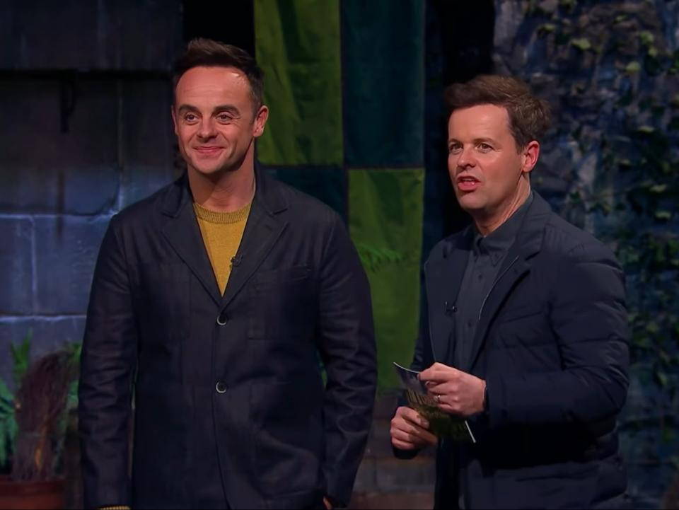 <p>Ant and Dec introduce Tuesday evening's 'Cart-Astrophy' trial</p>ITV