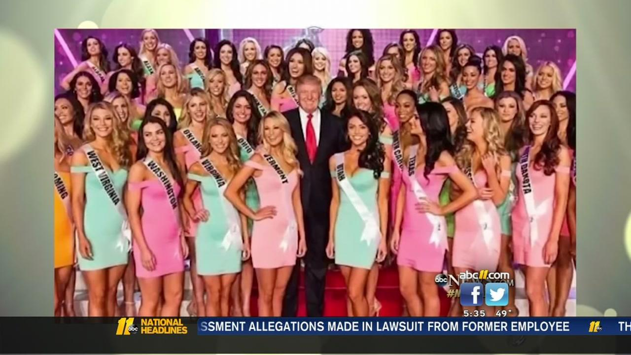 Samantha Holvey, Miss North Carolina USA 2006, is back in the spotlight, renewing calls for President Donald Trump to be investigated for sexual misconduct and inappropriate behavior.