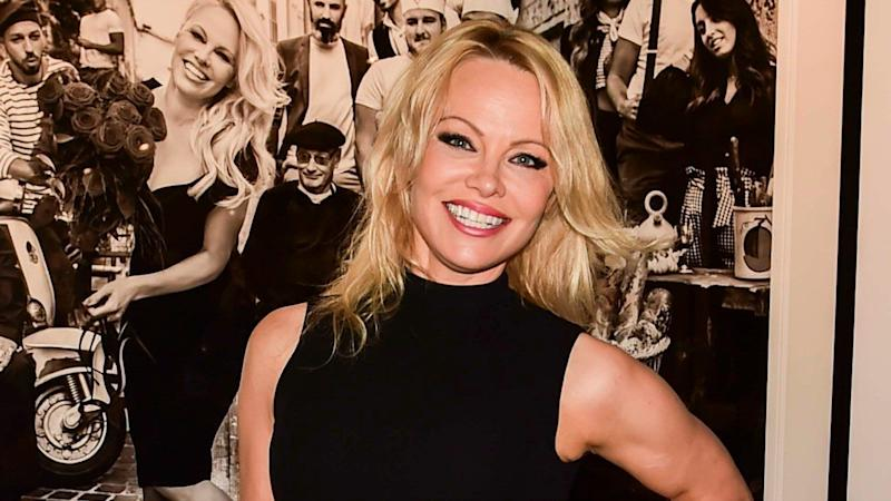 Pamela Anderson Looks So in Love in First Photo With Husband Jon Peters