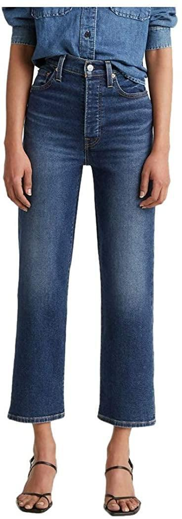<p>How sophisticated and cool are these <span>Levi's Ribcage Straight Ankle Jeans</span> ($48, originally $80)?</p>