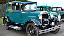 <p>By the 1920s, Ford and the Model T had competitors, so the final production of a T took place on May 26, 1927. Ford closed plants worldwide and devoted the next six months to improving its factories and designs. In 1928, a new car was introduced: the Model A, a nod to the Blue Oval's first car, the 1903 Model A. It was the first Ford with the Blue Oval logo.</p> <p>The Model A was available as a coupe, roadster, sedan, truck and more. Ford sold more than 5 million Model A cars by 1931 — no small feat considering these were the early years of the Great Depression.</p>