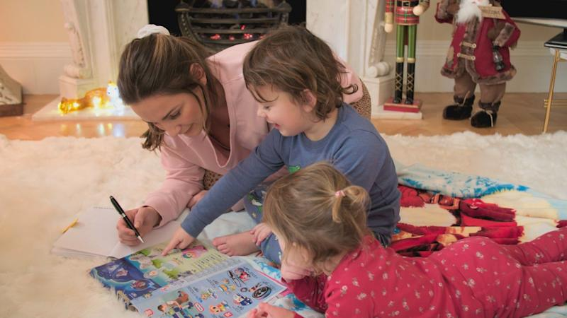 The first episode sees the family preparing for Christmas (ITV)