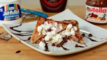 "<p>Dig into a plate of <a href=""https://www.popsugar.com/food/Smores-French-Toast-35203121"" class=""link rapid-noclick-resp"" rel=""nofollow noopener"" target=""_blank"" data-ylk=""slk:s'mores French toast"">s'mores French toast</a> - you're worth it.</p>"