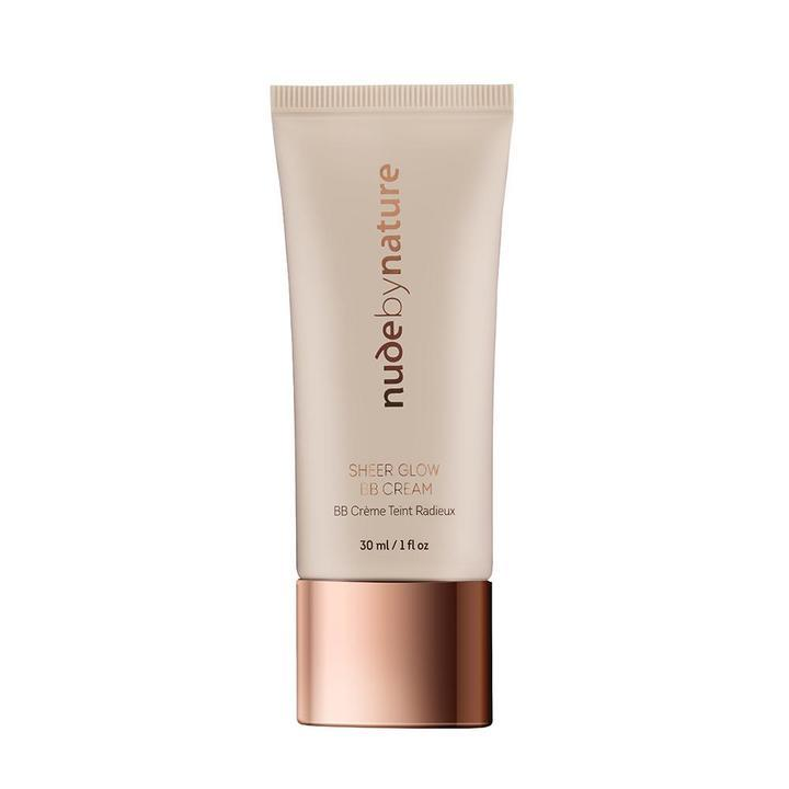 """<p>Depending on the condition of your skin, heavy foundation might not be the best idea. Instead, a BB cream like Nude by Nature Sheer Glow BB Cream will even out blotchy skin and blur out imperfection, giving you a healthy, natural glow.<br /><strong><a rel=""""nofollow"""" href=""""https://nudebynature.ca/products/sheer-glow-bb-cream"""">SHOP IT: Nude by Nature Sheer Glow BB Cream, $30</a></strong> </p>"""
