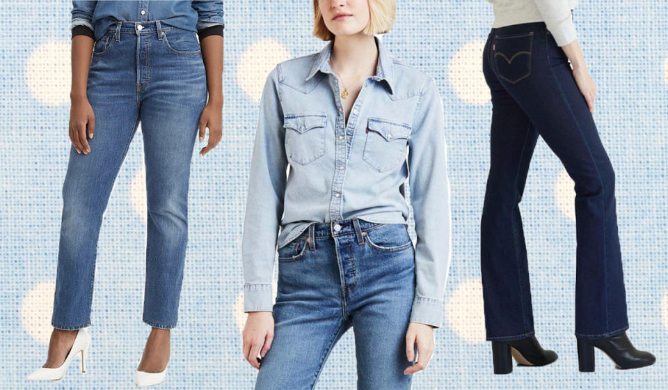Score deep savings on Levi's, but only for a limited time. (Photo: Zulily)
