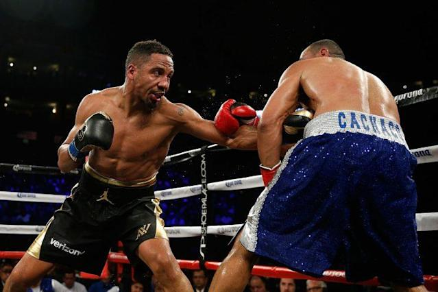 Andre Ward, left, hasn't lost a fight since 1996. (Getty Images)