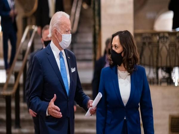 Joe Biden and Kamala Harris
