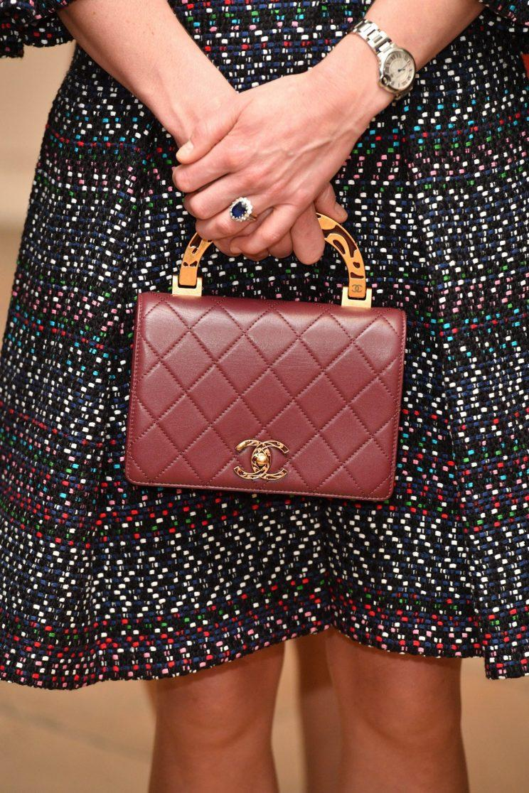 kate middleton's quilted handbag.