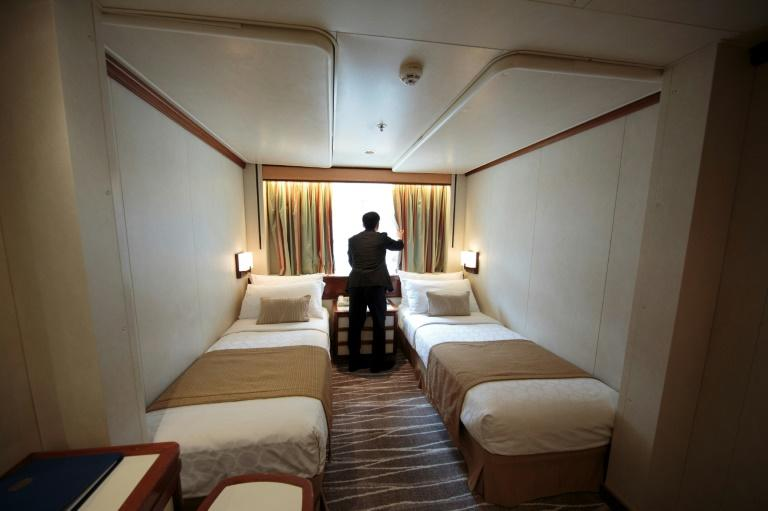 Japanese law bans hotel rooms without a window, but the health ministry last year ruled that ships with windowless cabins can be used as hotels during major events