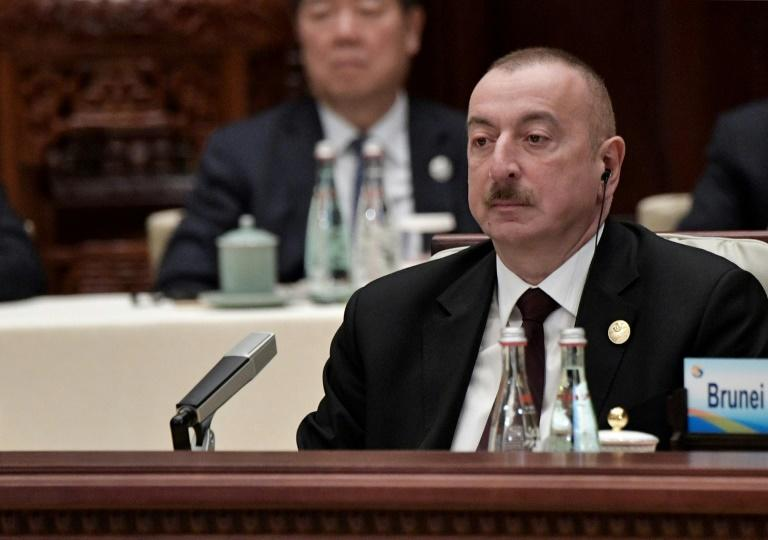 Aliyev has ruled the ex-Soviet state with an iron fist since he was first elected in 2003
