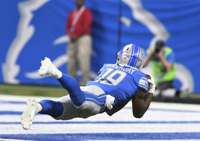 Kenny Golladay, breakout candidate. (AP Photo/Jose Juarez)