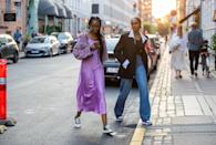<p>One way to instantly take a dressy fabric and make it work for day is to wear it with a sneaker. Converse and slip dresses are a great match.</p>
