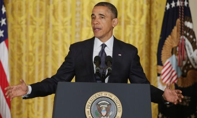 On issue after issue, President Obama finds himself in the political center.