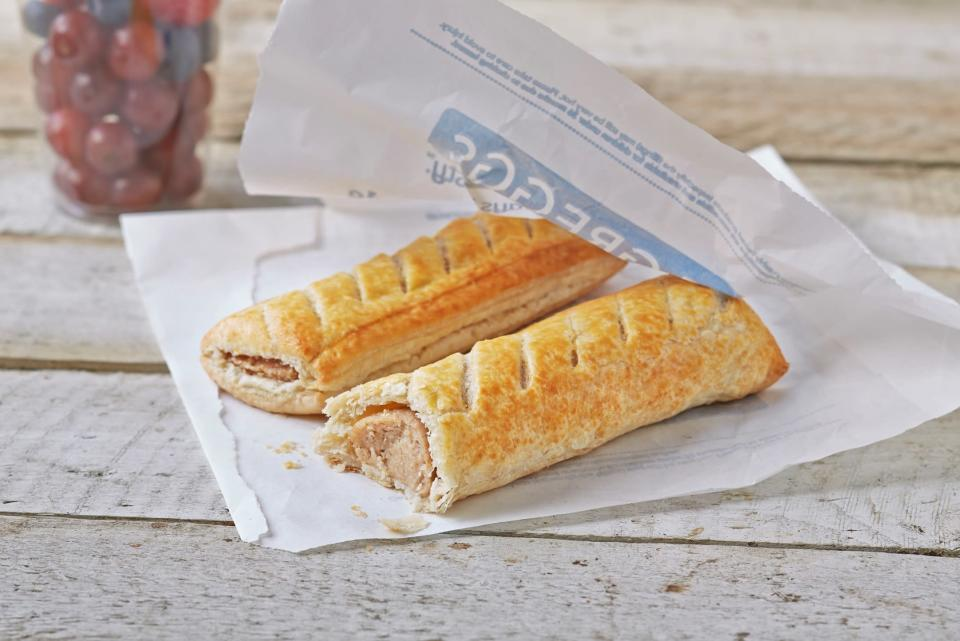 The famous sausage roll. Photo: Greggs