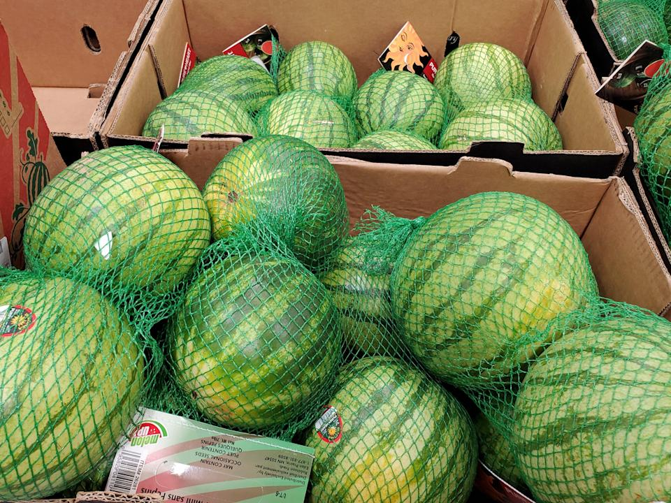 Small watermelons at Costco