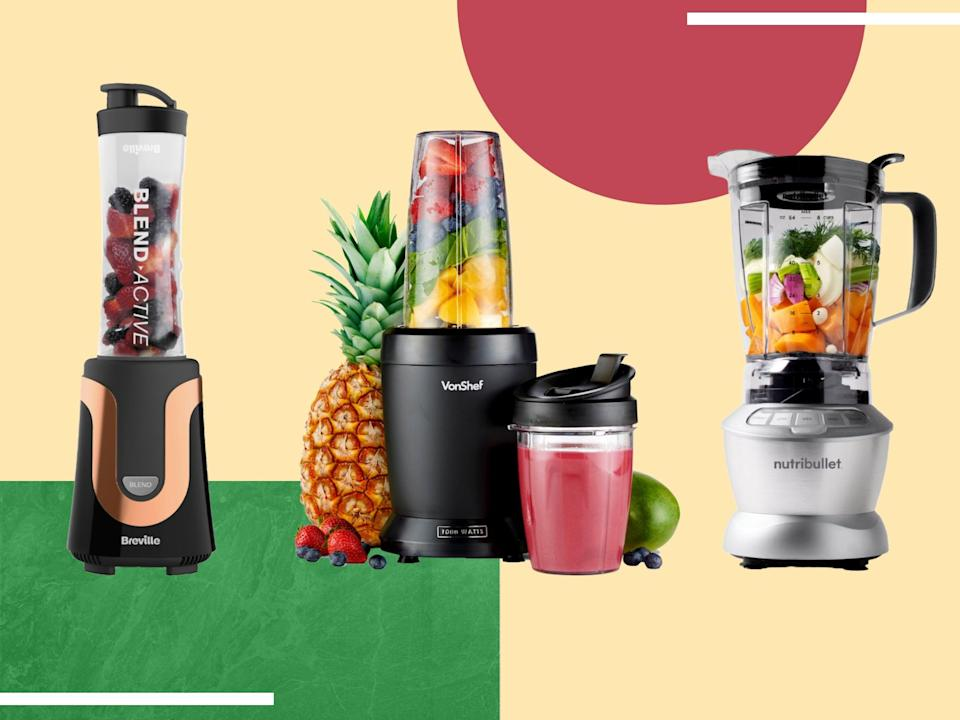 Our top appliance picks will make you go bananas for blended bevs (iStock/The Independent)