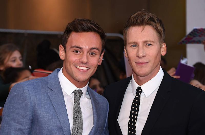 A Mail column on Tom Daley and his husband Dustin Lance Black has drawn widespread criticism: Getty