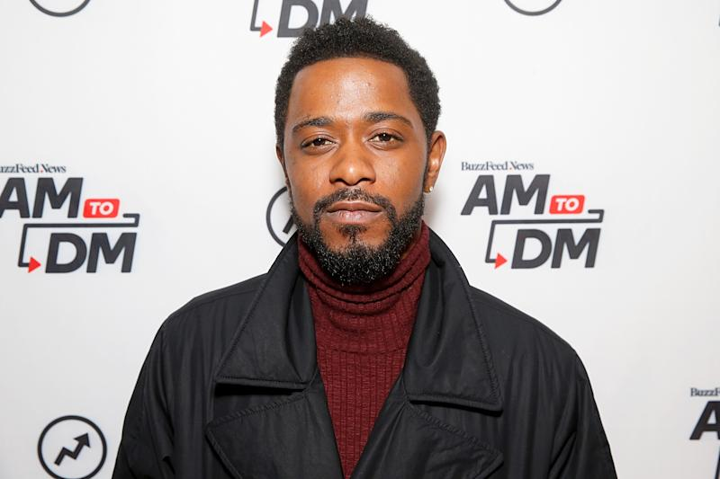 "Lakeith Stanfield attends BuzzFeed's ""AM To DM"" on February 12, 2020. (Photo by Dominik Bindl/Getty Images)"