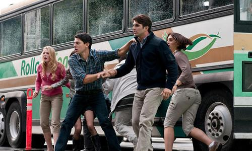 """<p>A group of co-workers on a corporate retreat escape the collapse of a suspension bridge because of a fellow worker's premonition of the disaster in 'Final Destination 5'.<br><br><a rel=""""nofollow"""" href=""""http://au.movies.yahoo.com/movie/68537/final-destination-5/trailers/26236734/"""">Watch the trailer for 'Final Destination 5'</a></p>"""