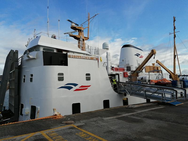 The Scillonian III can be a kind or a cruel mistress, depending on the weatherHelen Coffey