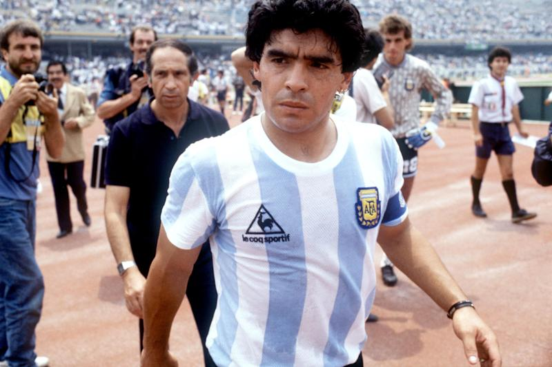 The new HBO documentary about Diego Maradona does a good job of capturing the fascinating life of the Argentinian legend. (Getty)