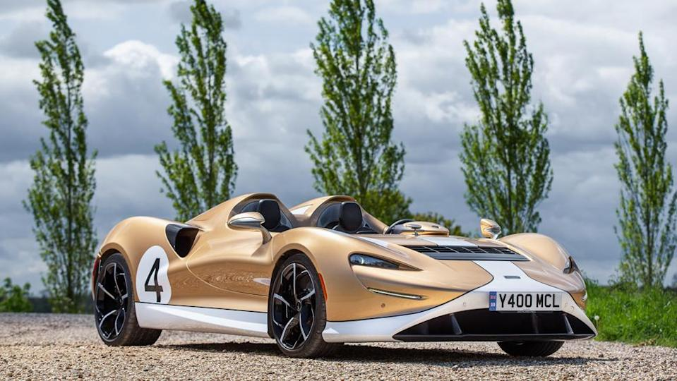 The 804 hp McLaren Elva is priced at  million. - Credit: Photo: Courtesy of McLaren Automotive Limited.