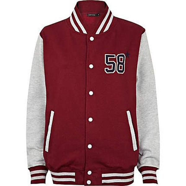 Red NYC Varsity Jacket, $80 at riverisland.com - Ever since Rihanna popularized the letterman's jacket a while back, we can't get enough of the style. It's worth noting that you did not have to run any windsprints to earn this version of the sporty classic.