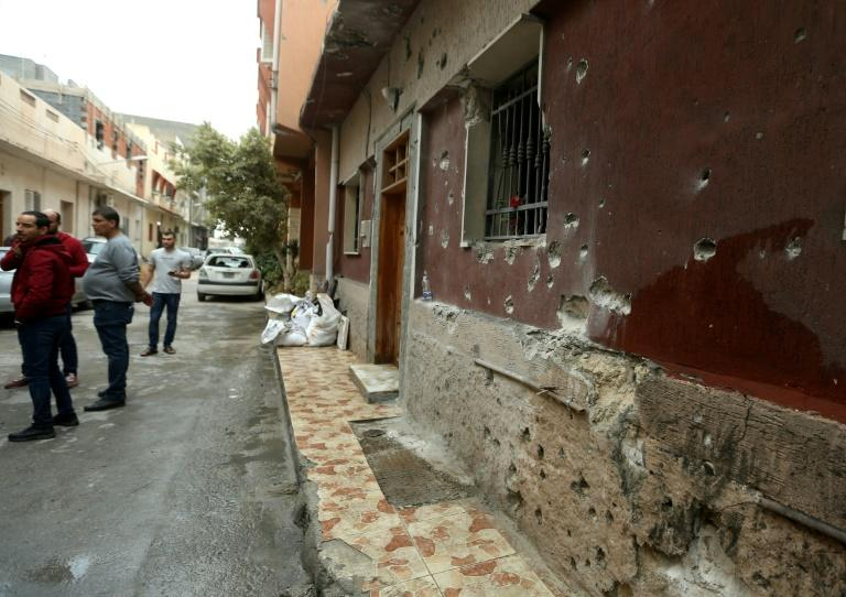 Tripoli's Batata neighbourhood has been hit by the latest violence despite UN calls for a ceasefire